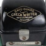 protector de cheques vintage